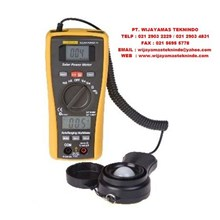Digital Multimeter with Solar Power Measurement Function 10 Merk Constant