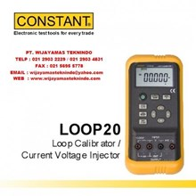 Lopp Calibrator - Current Voltage Injector LOOP20 Merk Constant