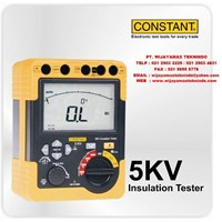 Jual Insulation Tester 5KV Merk Constant