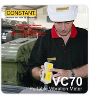 Jual Portable Vibration Meter VC70 Merk Constant
