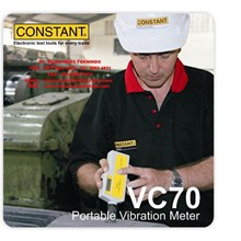 Portable Vibration Meter VC70 Merk Constant