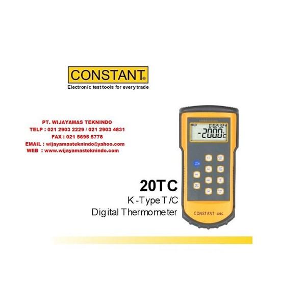 K Type T-C Digital Thermometer 20TC Merk Constant