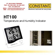 Temperature Humidity Indicator HT100 Merk Constant