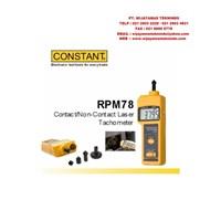 Contact-NonContact Laser Tacho RPM78 Merk Constant 1