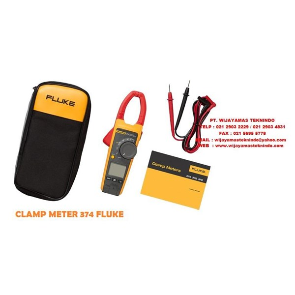 Sell Fluke 374 True RMS AC-DC Clamp Meter