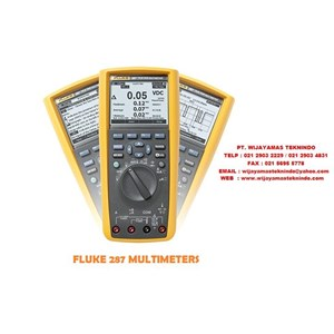 Fluke 289 And 287 True-rms Industrial Logging Multimeter
