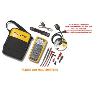 Multimeter Fluke 289 And 287 True-rms Industrial Logging Multimeter