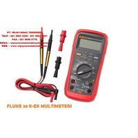 Fluke 28 II Ex Intrinsically Safe True-rms Digital