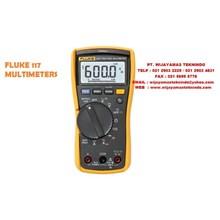 Fluke 117 dan 115 Electrician's Multimeter dengan tegangan Non-Contact