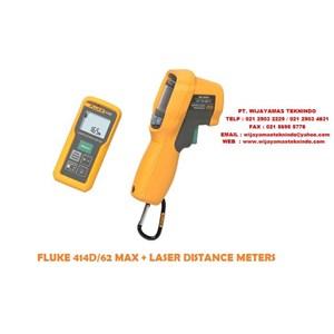 Dari Fluke 414D-62 MAX + Laser Distance Meter Infrared Thermometer Combo Kit 0