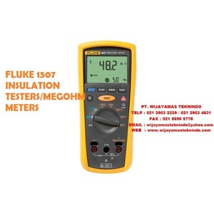 Fluke 1507 And 1503 Insulation Resistance Testers