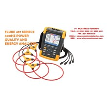 Fluke 437-435-434 Series II 400Hz Power Quality and Energy Analyzer