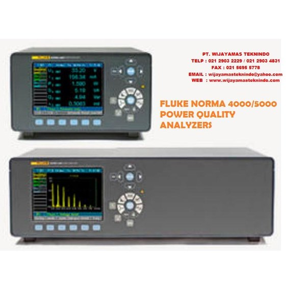 Sell Fluke Norma 4000 And 5000 High Precision Power Analyzers