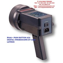 RS232 + PUSH BUTTON ADJ DIGITAL STROBOSCOPE DT-2269 LUTRON