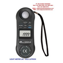 LIGHT METER LM-81LX LUTRON