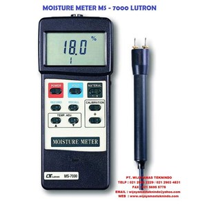 From MOISTURE METER MS-7000 LUTRON 0