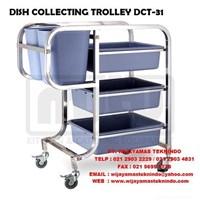 Jual DISH COLLEECTING TROLLEY DCT - 31 MUTU