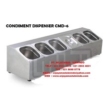 CONDIMENT DISPENSER CMD 3 MUTU ( Tempat Bumbu Dapur )