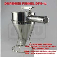 DISPENSER FUNNEL DFN - 12 ( Penyaring Adonan Kue )