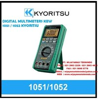 Jual DIGITAL MULTIMETERS KEW 1051 - 1052 KYORITSU