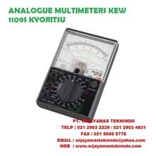 ANALOGUE MULTIMETERS KEW 1109S And 1110 KYORITSU