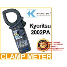 DIGITAL CLAMP METERS 2002PA-2002R KYORITSU