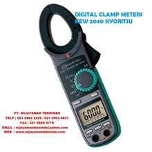 DIGITAL CLAMP METERS KEW 2040 KYORITSU