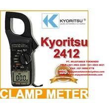 LEAKAGE CLAMP METERS KEW 2412 KYORITSU