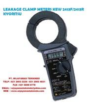 LEAKAGE CLAMP METERS KEW 2413F - 2413R KYORITSU