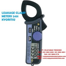 LEAKAGE CLAMP METERS 2431 KYORITSU