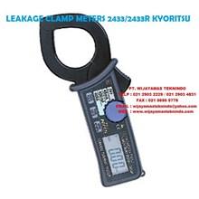 LEAKAGE CLAMP METERS 2433-2433R KYORITSU