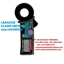 LEAKAGE CLAMP METERS 2434 KYORITSU