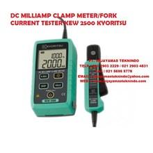 DC MILLIAMP CLAMP METER KEW 2500 KYORITSU