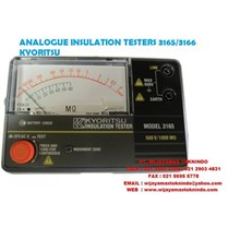 ANALOGUE INSULATION TESTERS 3165-3166 KYORISTU