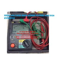 HIGH VOLTAGE INSULATION TESTERS 3125-3126 KYORITSU
