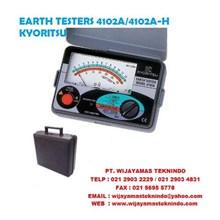 EARTH TESTERS 4102A DAN 4102A-H KYORITSU