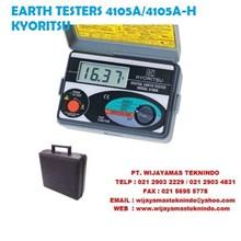 EARTH TESTERS 4105A-4105A KYORITSU-H