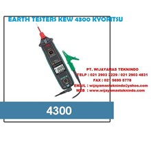 EARTH TESTERS KEW 4300 KYORITSU