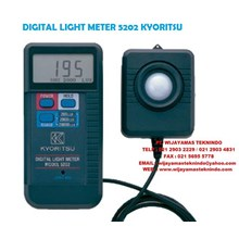 DIGITAL LIGHT METER KYORITSU 5202