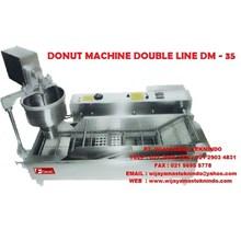 DONUT MACHINE DOUBLE LINE DM-35 FOMAC ( Mesin Pencetak Dan Menggoreng Donat )