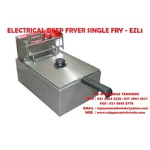 ELECTRIC DEEP FRYER SINGLE FRY - EZL1 FOMAC ( Mesin Penggorengan )
