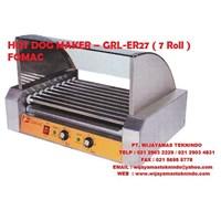 HOT DOG MAKER – GRL-ER27 ( 7 Roll ) FOMAC ( Mesin Pemanggang )