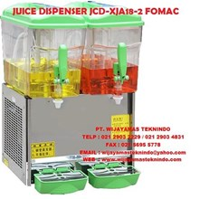 JUICE DISPENSER JCD XJA18-2 FOMAC