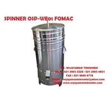 SPINNER OSP-WE01 FOMAC ( Mesin Peniris Minyak )