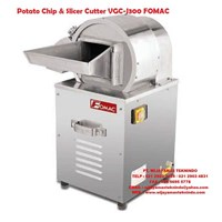 Jual Mesin Cetak Kentang Potato Chip & Slicer Cutter VGC-J300 FOMAC