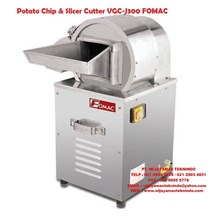 Mesin Cetak Kentang Potato Chip & Slicer Cutter VGC-J300 FOMAC
