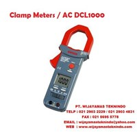 Clamp Meters AC DCL1000 (With Case ) Sanwa