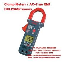 Clamp Meters AC+True RMS DCL 1200R Sanwa