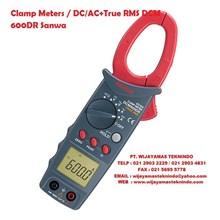 Clamp Meters DC-AC+True RMS DCM 600DR Sanwa