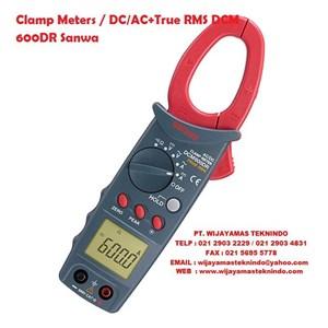 Dari Clamp Meters DC-AC+True RMS DCM 600DR Sanwa 0